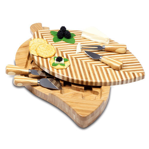Leaf Cheese Board w/ Tools