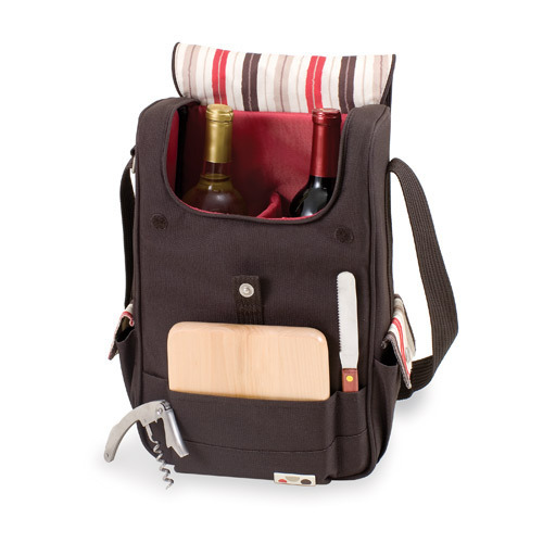 Volare Wine Tote - 2 Bottles - Collections - Moka