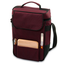 Duet Wine Tote - 2 Bottles - Burgundy - $750,76 MXN