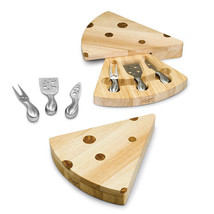 Swiss - Wedge Shaped Cheese Board w/ Tools - $34.95