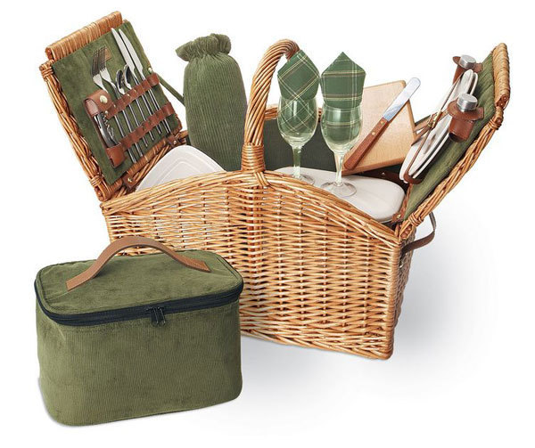 Somerset Picnic Basket for Two