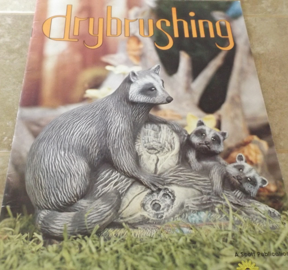 Drybrushing by Joan Langdale, Ceramic, Tole, Decorative Painting Book