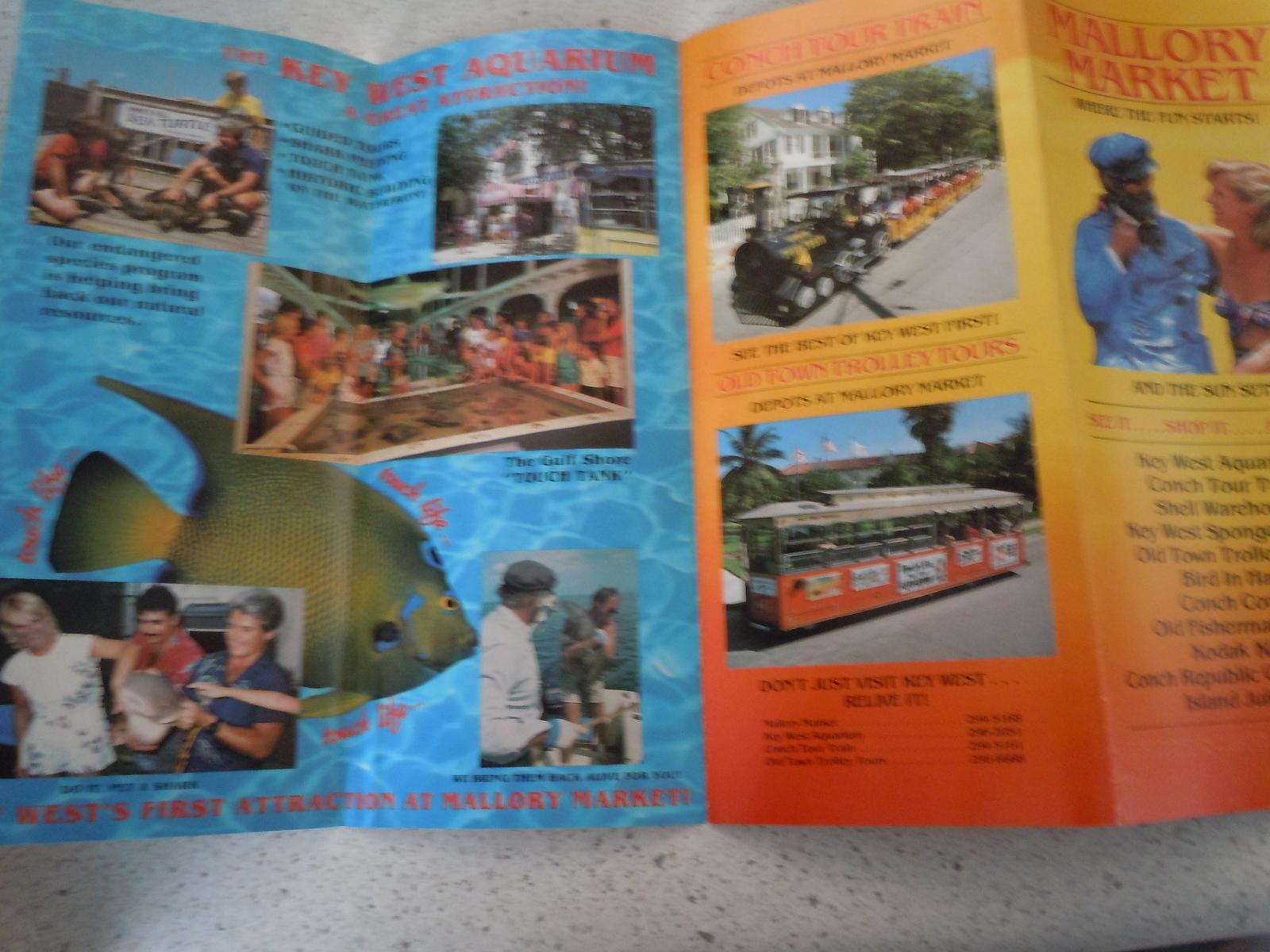 Mallory Market Key West Florida Brochure 1990