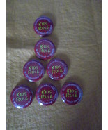 If Kids Ruled the School~seven, 1 1/2-inch promo buttons~Bruce Lamsky~2004 - $10.95