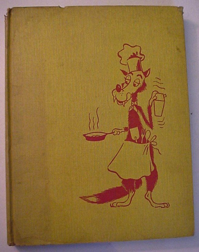WOLF IN CHEF'S CLOTHING The Picture Cook and Drink Book for Men 1954 Fifth Prtg