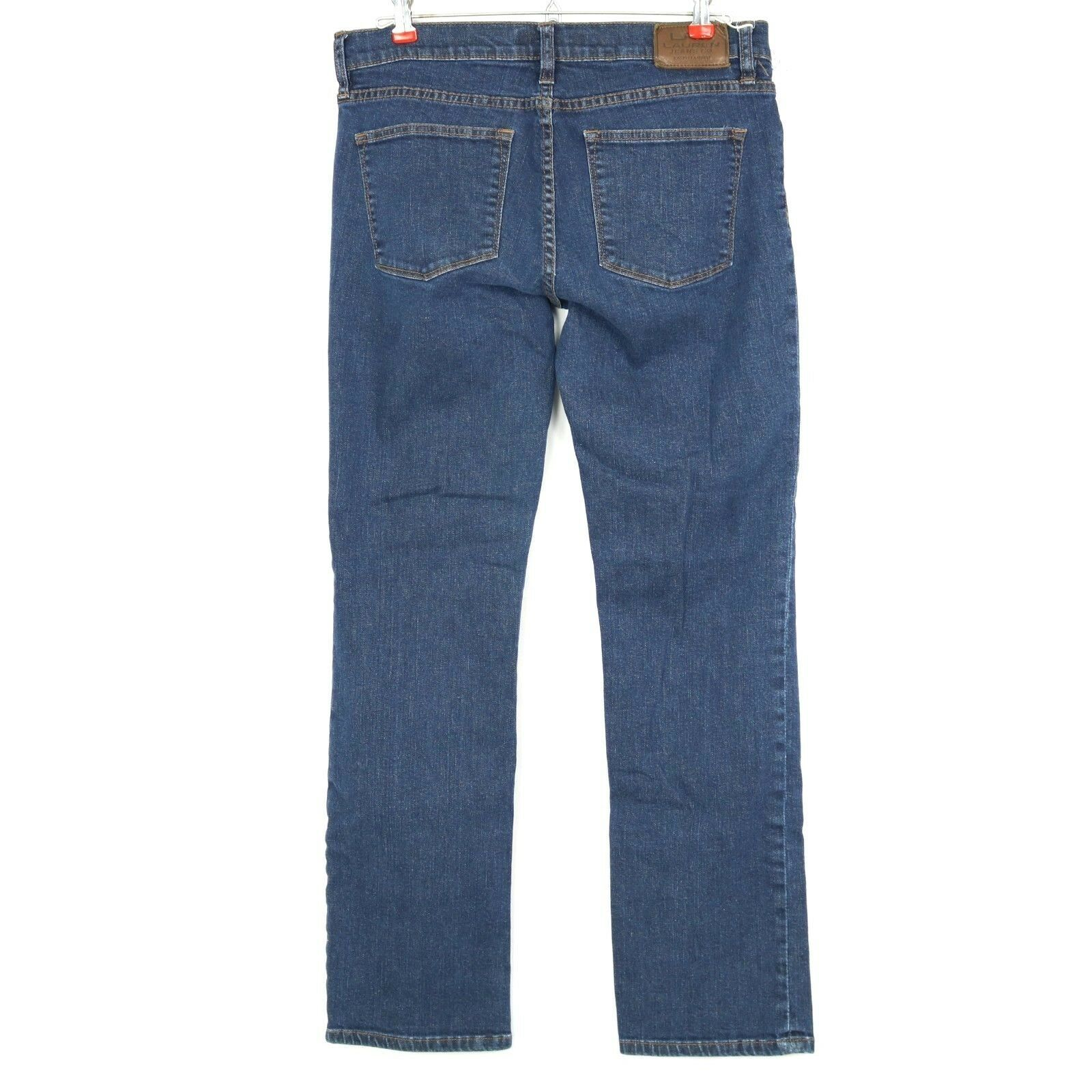 9009cf693fa 57. 57. Previous. Lauren Ralph Lauren Womens Jeans Modern Straight Size 8 X  29 Stretch Dark