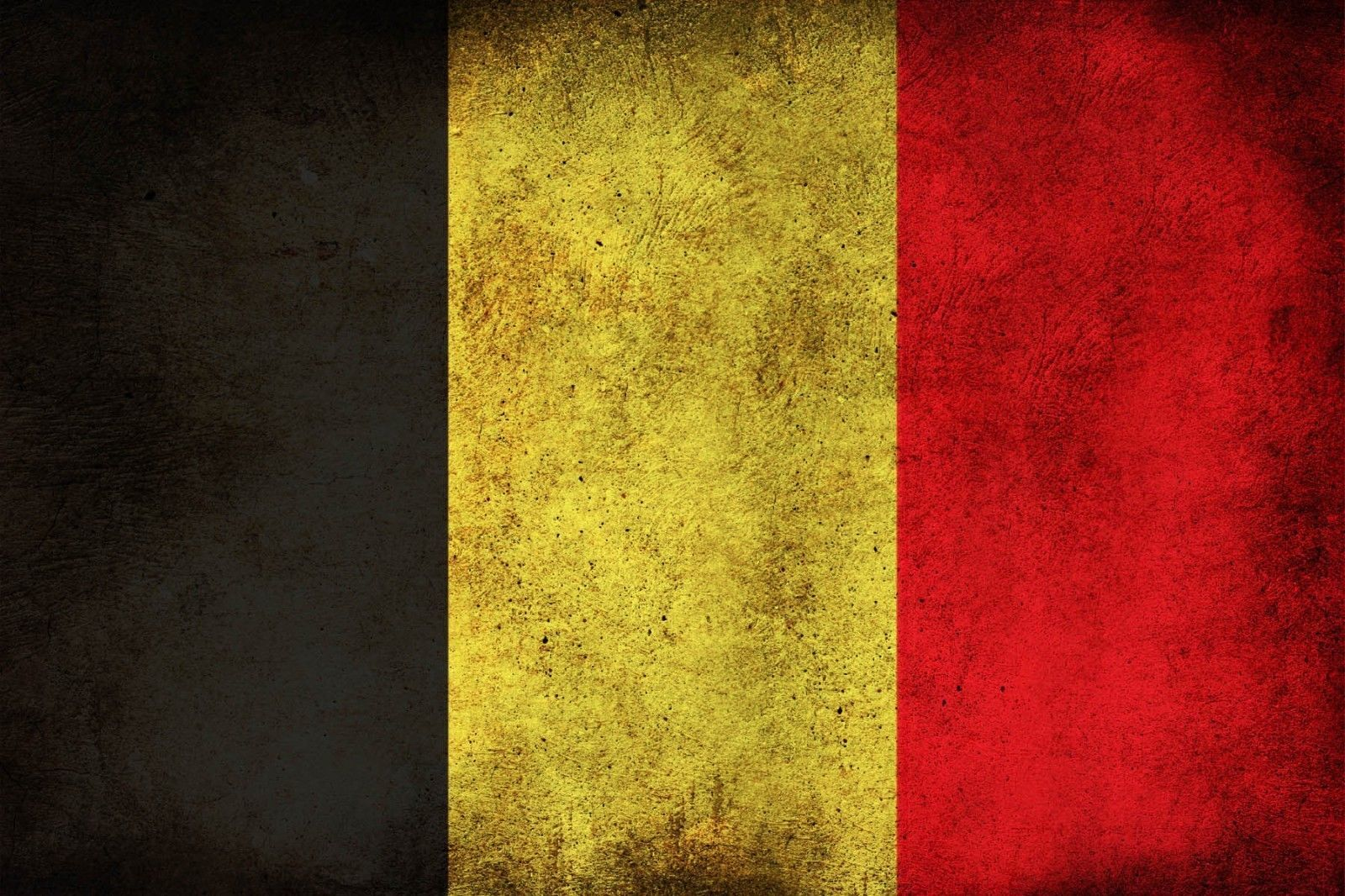 """Belgian Flag Car Magnet 4""""x6"""" Solidarity with Brussels in these trying times"""