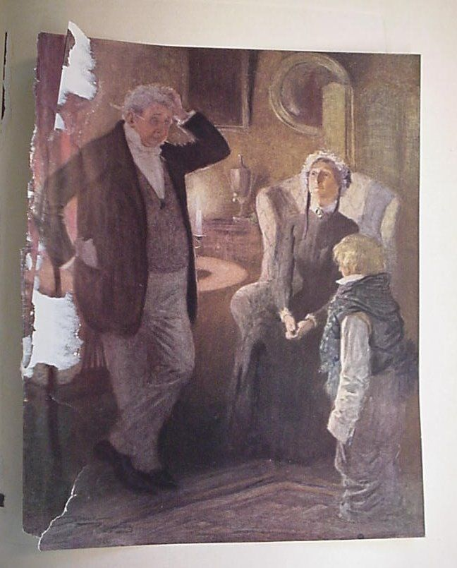 The Personal History of David Copperfield - Charles Dickens Illus Frank Reynolds