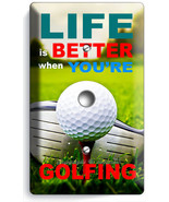 LIFE is BETTER GOLFING GOLF LIGHT DIMMER VIDEO ... - $10.99