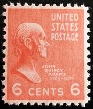 1938 6c John Quincy Adams Scott 811 Mint F/VF NH - $1.47