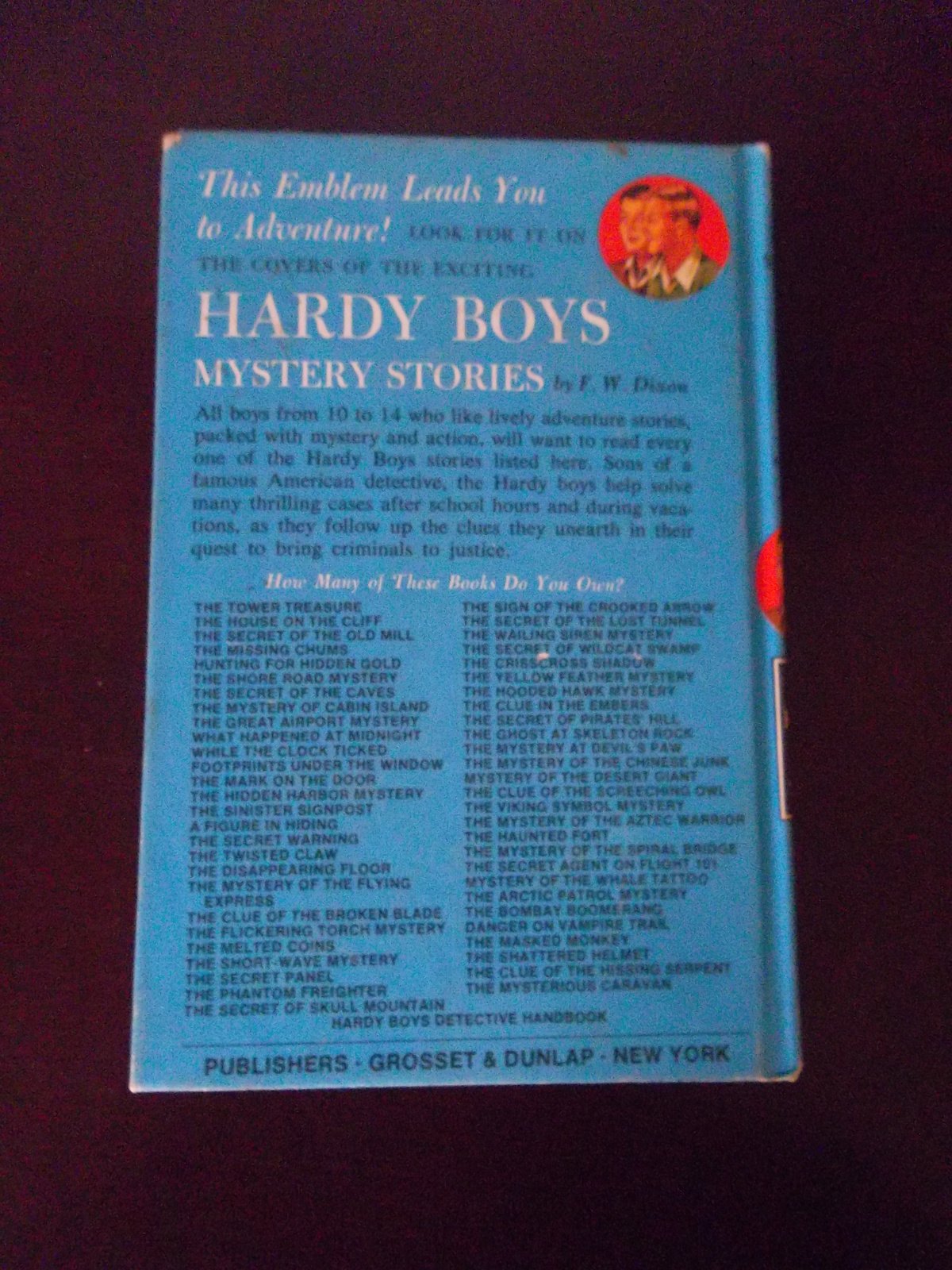 The Hardy Boys-1962-The Clue of the Screeching-Owl #41~Franklin Dixon