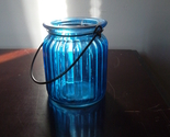 Blue jar candlw holder audrey 001 thumb155 crop