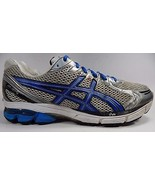 Asics GT 2170 Men's Running Shoes Size US 12.5 M (D) EU 47 Silver Blue T104N - $33.69