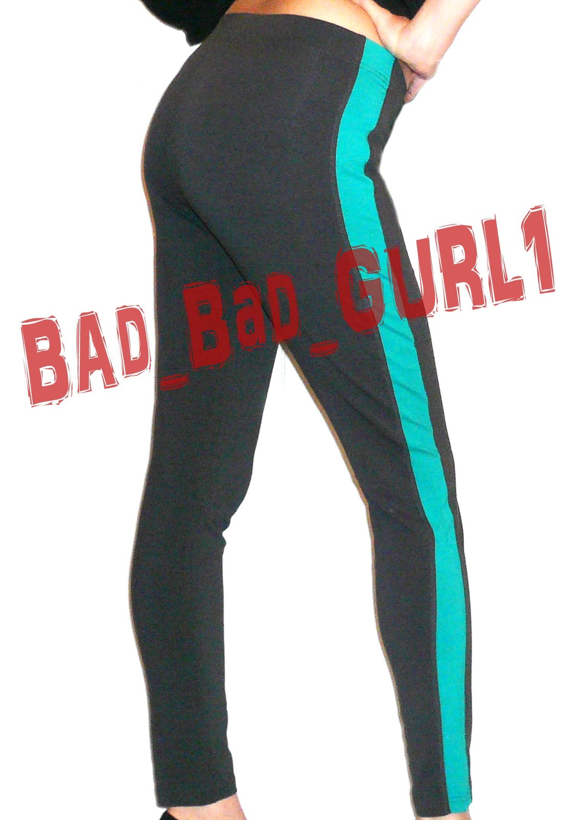 Forever21 Contrast Panel Colorblock Skinny Gym Leggings Athletic Jeggings Pants