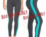 Orever21 contrast panel colorblock skinny gym leggings athletic jeggings pants  4  thumb155 crop