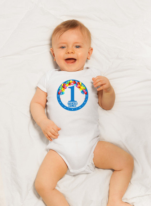 Milestone Iron On's | Customized Monthly Iron Ons | Baby Monthly Iron On's