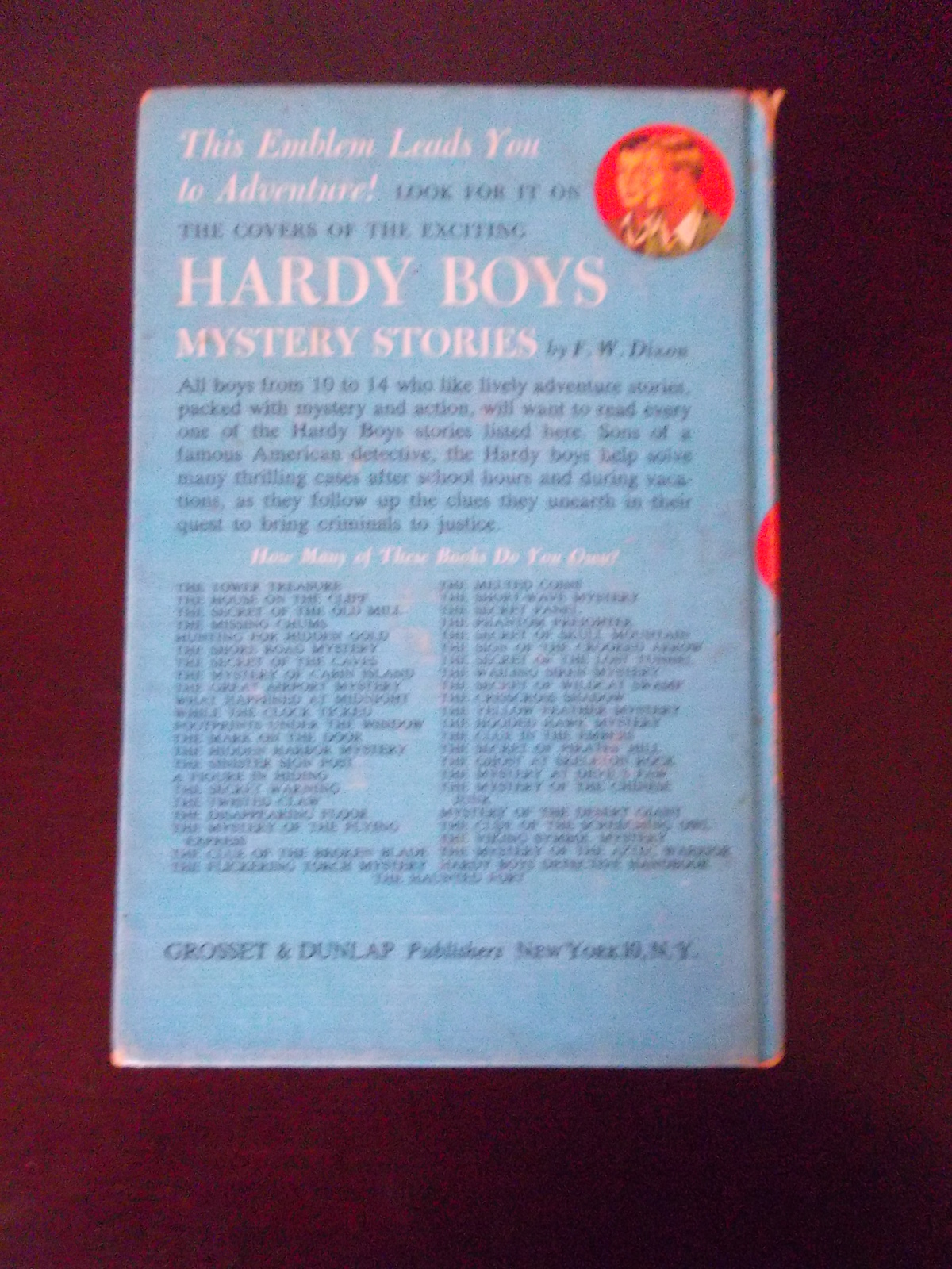 The Hardy Boys~1939~The Twisted Claw! #18~Franklin Dixon