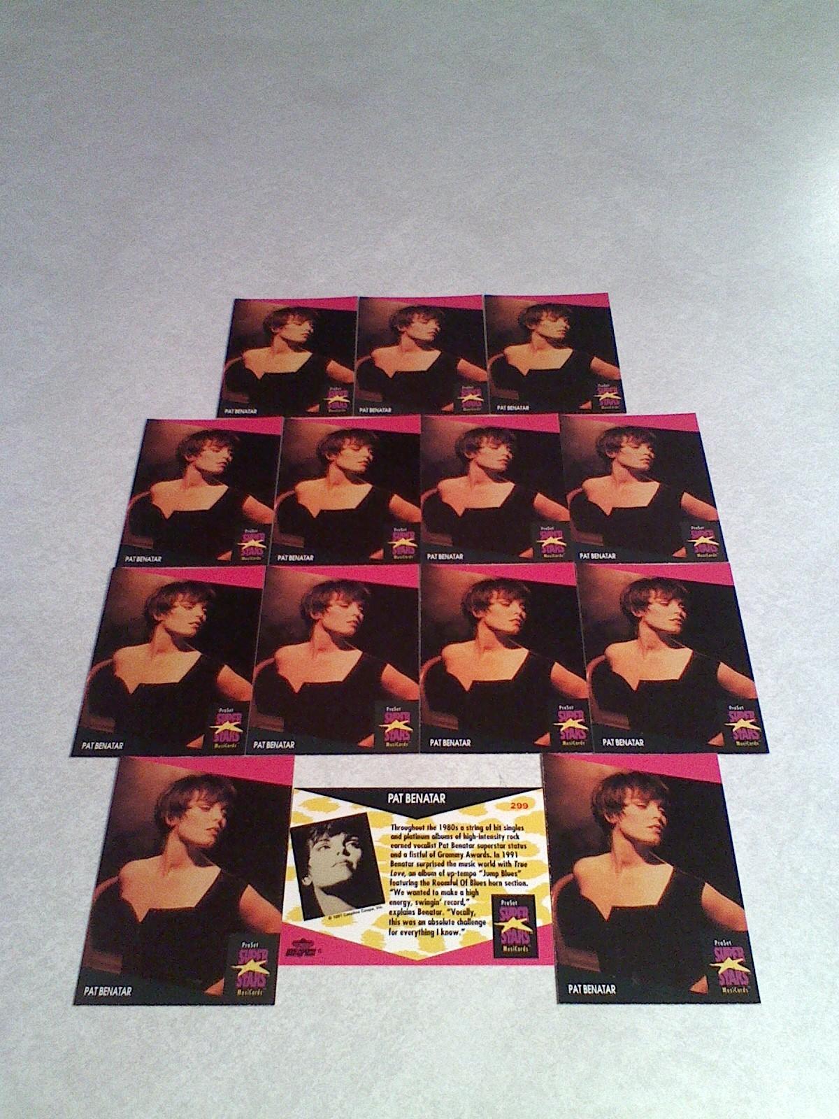 ***PAT BENATAR***  Lot of 14 cards / MUSIC