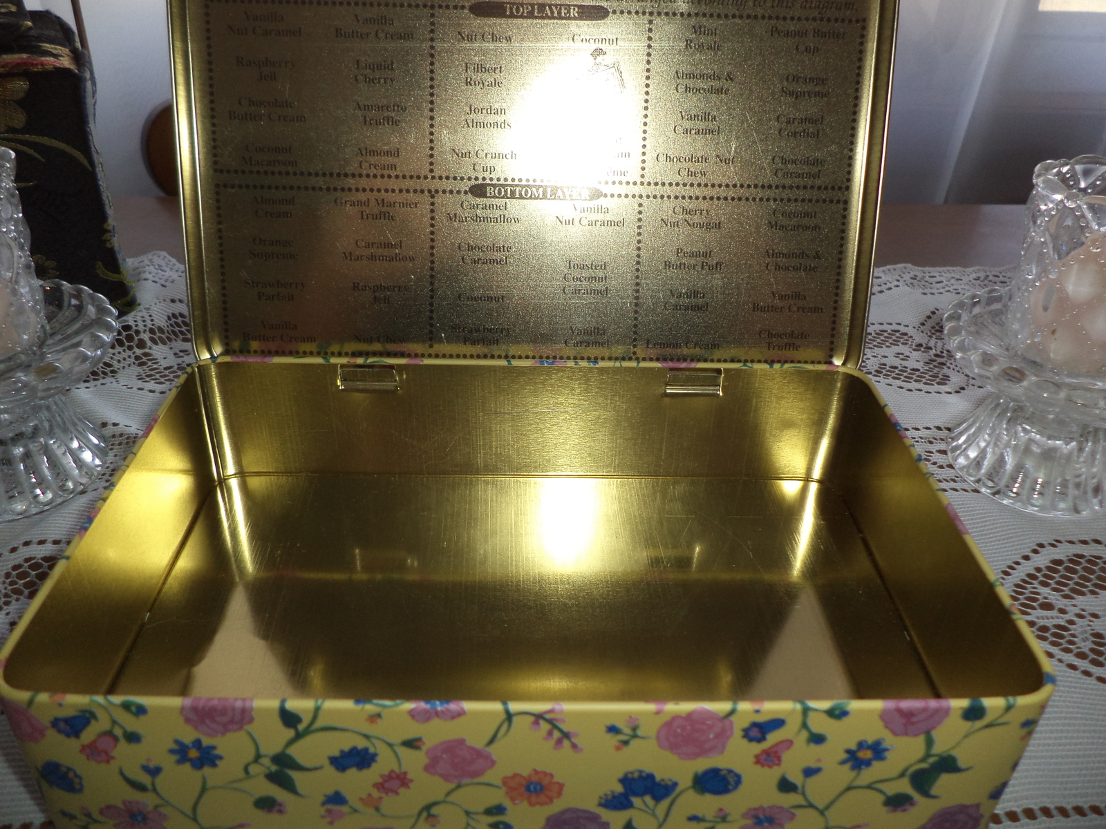 150th Anniversary 1992 Whitman Chocolate Tin
