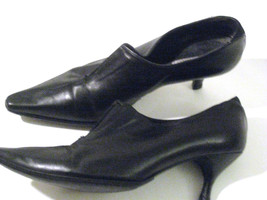 Exquisite Black Leather DONALD J PLINER Pump 8 1/2  M Spain $280 RARE - $69.99