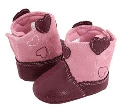 NWT BABY DEER LIZARD SUEDE INFANT TODDLER GIRL BOOTS SHOES SIZE 1