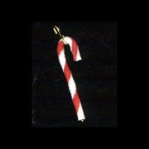 Holiday  Red White  Candy Cane  Nail Art Dangle Charm - $5.81