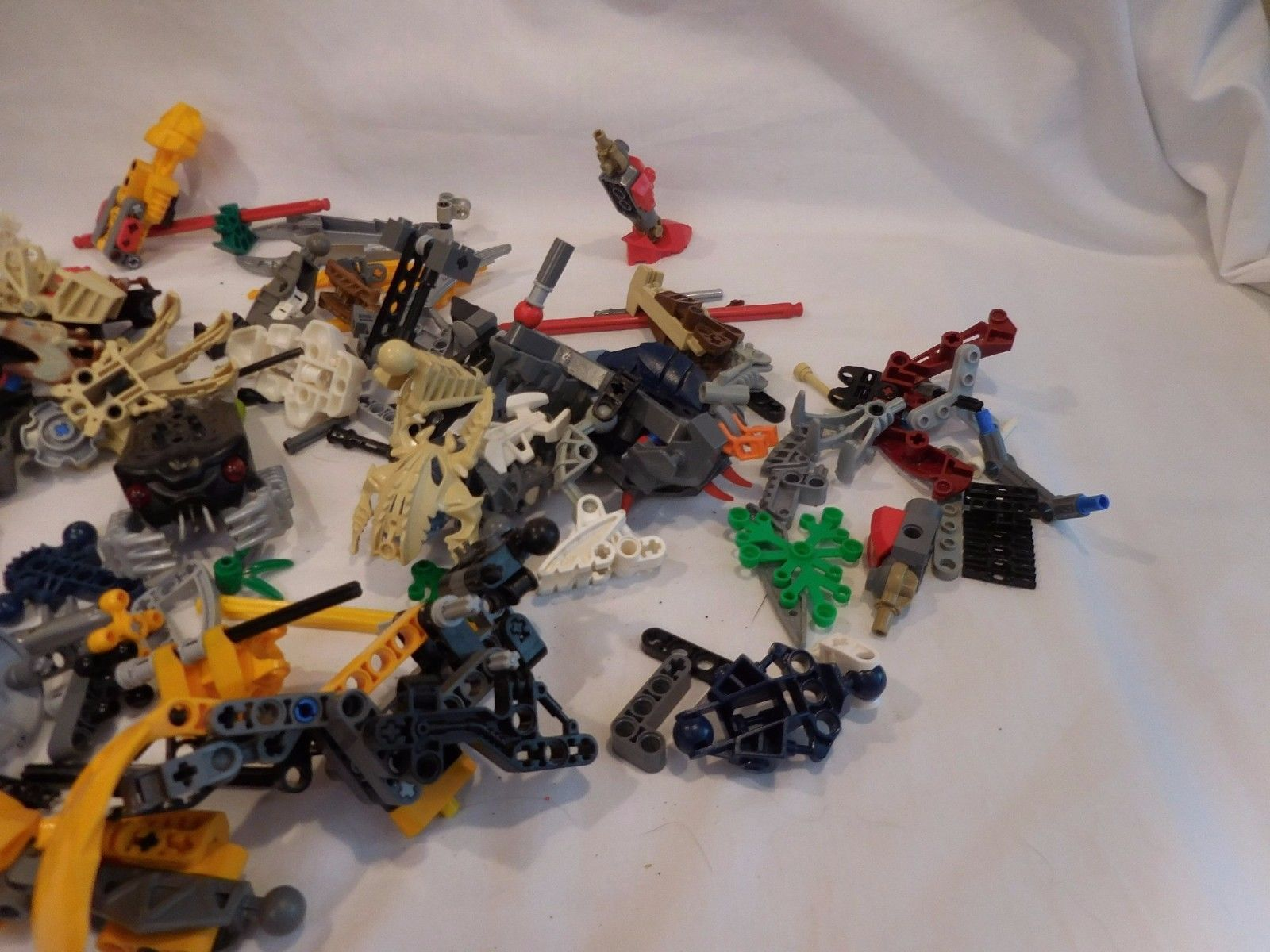 Huge Lot of Lego Bionicle Hero Factory Parts Pieces Figures # 29