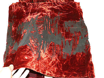 Alexia Admor New York 12 red blk spaghetti straps Juniors Womens long dress #