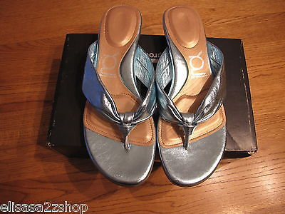 You by Crocs Tress Aqua Sandals Flip Flops Thong 7.5 7 1/2 Women's Juniors NEW^^