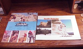 Lot of 2 1970's South Dakota Travel Brochures, Guides, Of All Places - $6.95