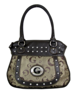 Fashion unbranded G LOGO Jaquard Shoulder Handbag DESIGNER LOOK Purse - $19.99