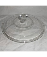 """PYREX #623-C Round Clear Glass 8"""" Replacement Lid - $12.95"""