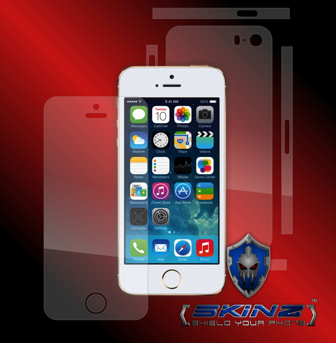 Apple iphone se self healing full body protector invisible shield