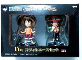 One Piece Marineford Figure Monkey D Luffy Portgas D Ace Mugiwara Eiichi... - $46.52