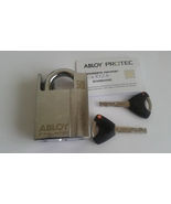 ABLOY  PL 342 N/25 PROTEC Hardened Steel Padlock . With 2 Keys And Keyco... - $165.00