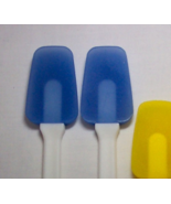 Mini Silicone Spatula Spoontula Set BLUE 500 degree h - $4.50