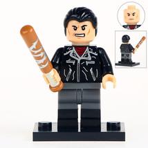 Negan The Walking Dead Minifigures Toy Custom Minifig Building Superheroes - $3.79
