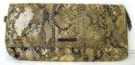 Kenneth Cole Reaction Gold Metallic Snakeskin P... - $31.95