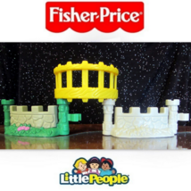 EUC Fisher Price Little People Lil' Kingdom Cas... - $6.50