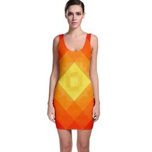 Cute Orangle Glow Tight Fitted Bodycon Dresses - Size & Sleeve Options - $29.09+