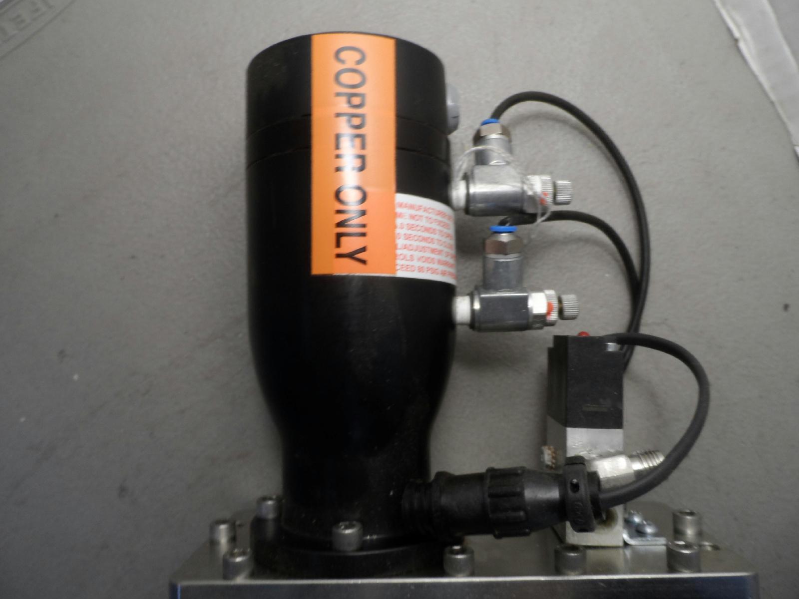 Edwards GVI 100P Gate Valve Copper Only Code No. B65354000