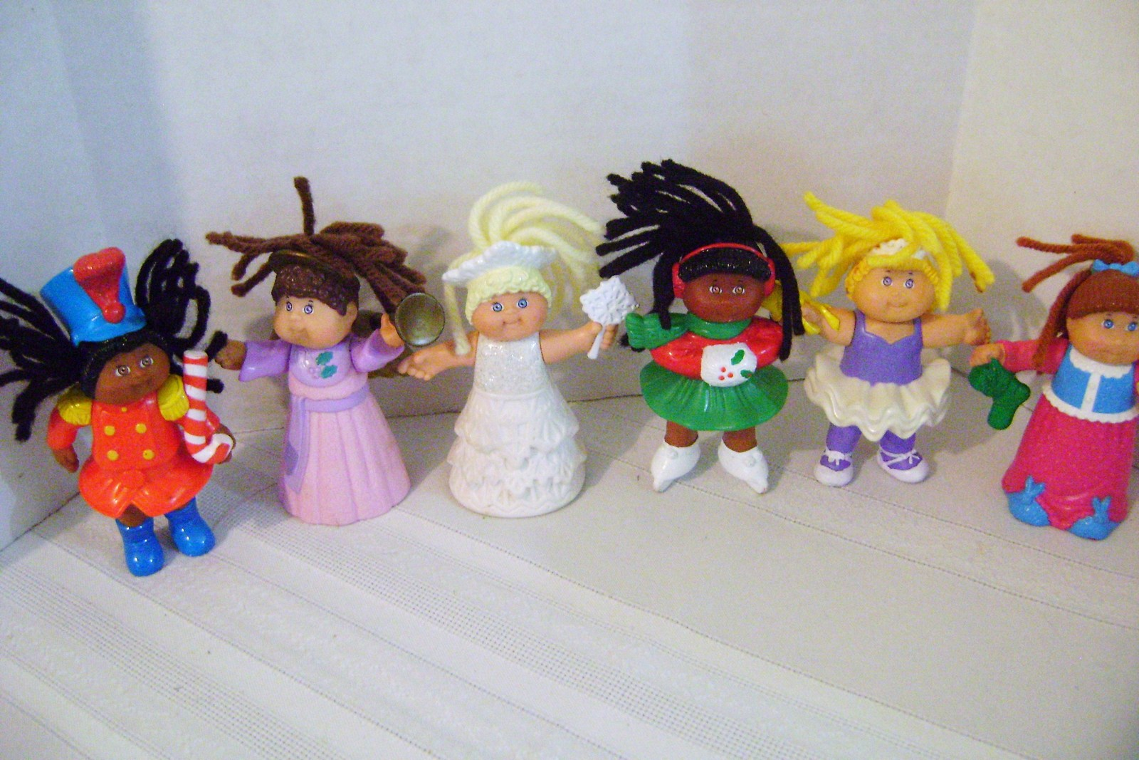 Miniature PVC Cabbage Path Dolls