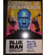 BLUE MAN GROUP POSTER - SF - $6.18