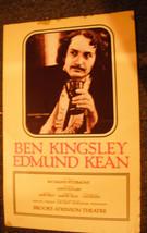 BEN KINGSLEY AS EDMUND KEAN POSTER - $9.50
