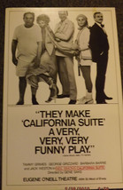 CALIFORNIA SUITE POSTER - TAMMY GRIMES, GEORGE GRIZZARD, BARBARA BARRIE - $15.20