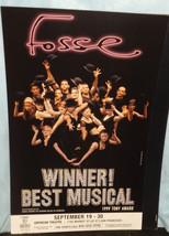 FOSSE POSTER - SF RUN 2000 - $7.60