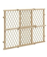 Evenflo Position and Lock Wood Gate, Tan baby pet room baricade fence di... - $14.95