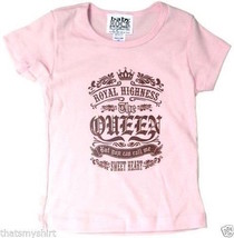 New Authentic Royal Highness The Queen Toddler T-Shirt Size 2  - $14.84