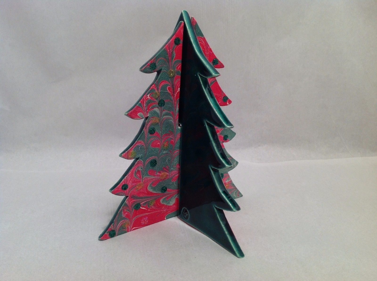 Ceramic Hand Made Christmas Tree Home Decor Great Gift from Elf Works Lane