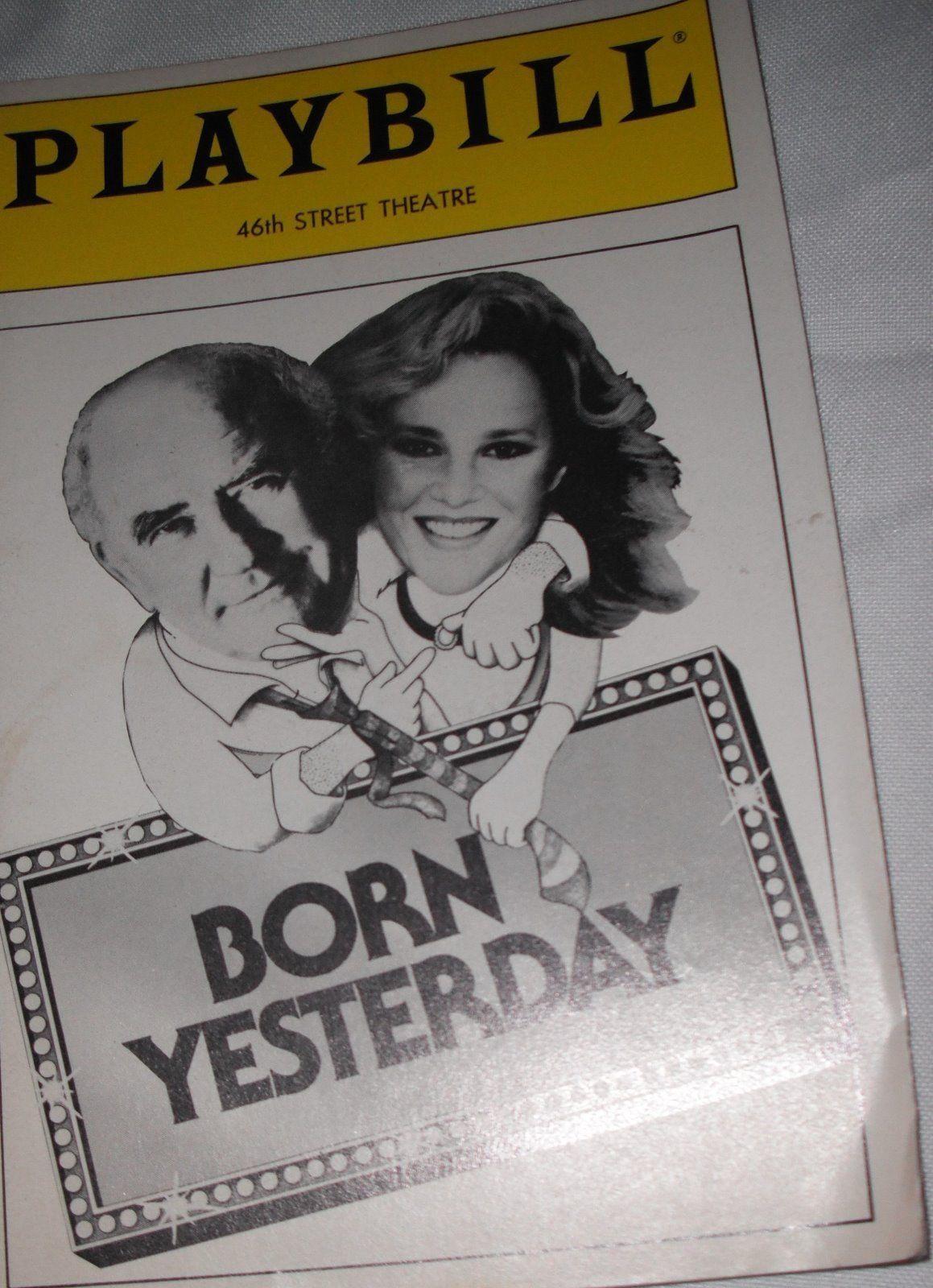 Born Yesterday Playbill